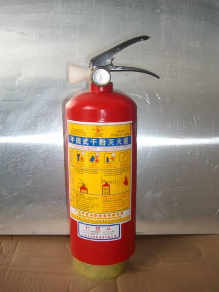 规格为4kg的ABC干粉灭火器