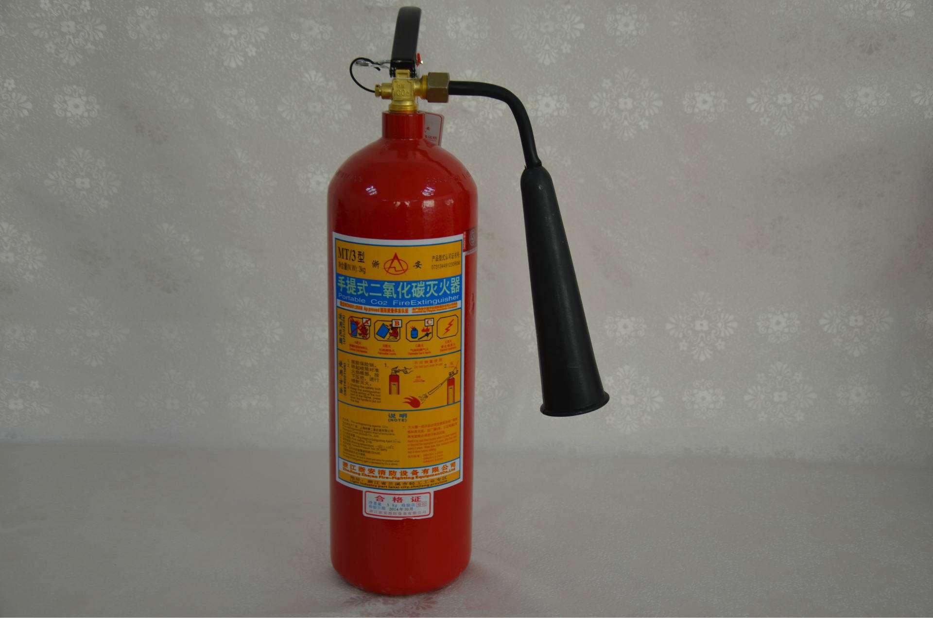 规格为10kg的二氧化碳灭火器