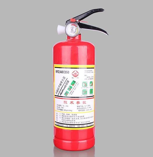 规格为1kg的ABC干粉灭火器